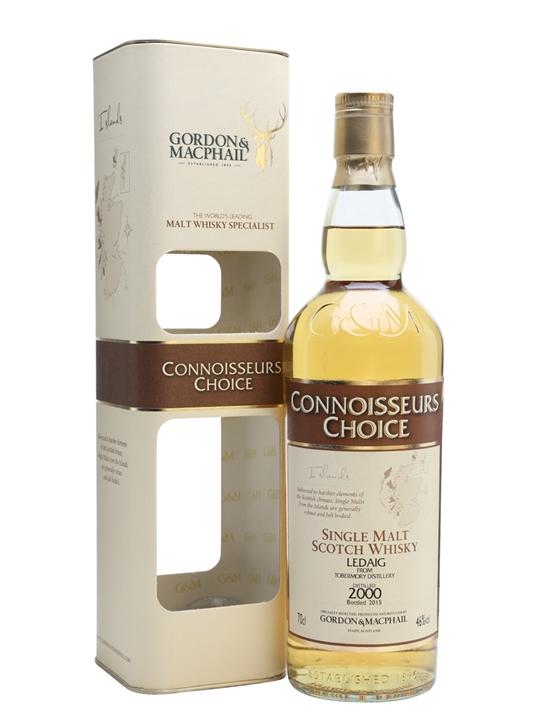 Ledaig 2000 / Bot.2015 / Connoisseurs Choice Island Whisky