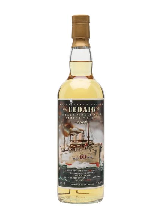 Ledaig 2008 / 10 Year Old / Great Ocean Liners /Jack Wiebers Island Whisky