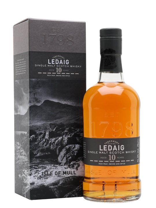 Ledaig 10 Year Old Island Single Malt Scotch Whisky