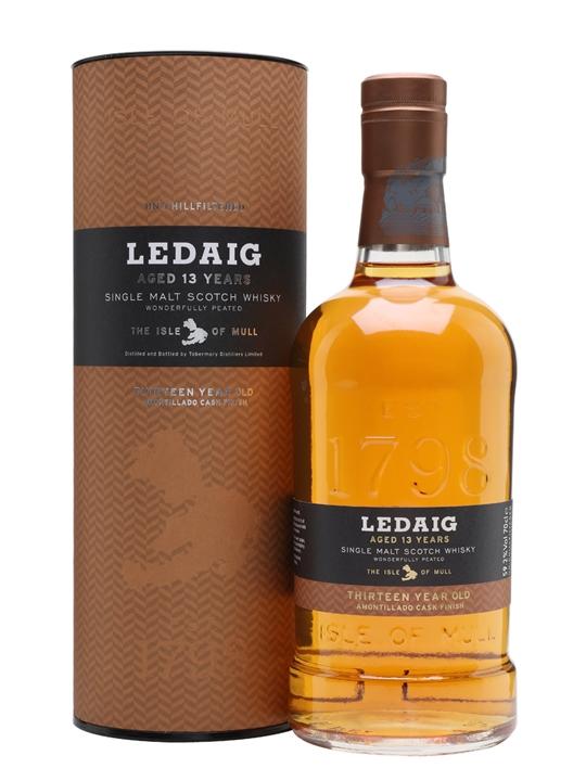 Ledaig 13 Year Old / Limited-edition Amontillado Finish Island Whisky