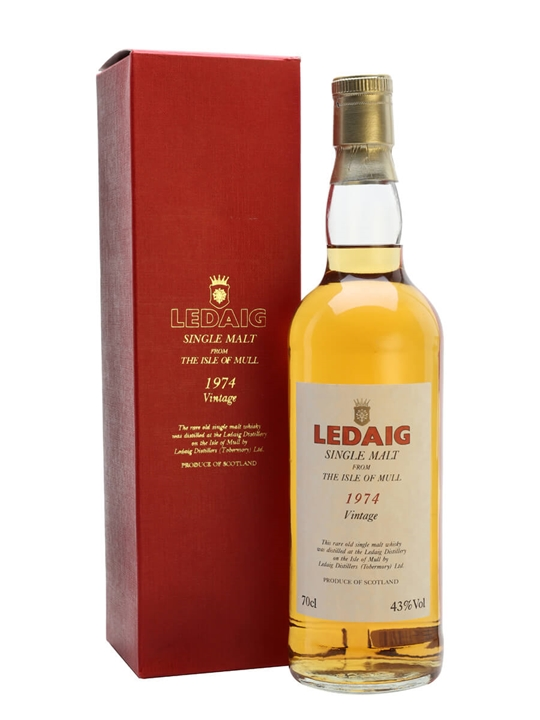 Ledaig 1974 Island Single Malt Scotch Whisky