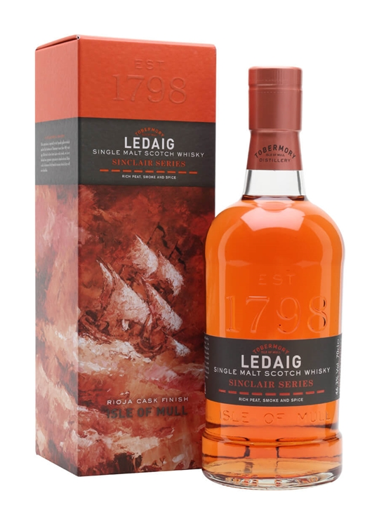Ledaig Rioja Cask Finish / Sinclair Series Island Whisky