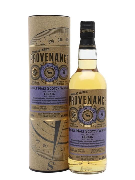 Ledaig 2010 / 9 Year Old / Provenance Island Single Malt Scotch Whisky