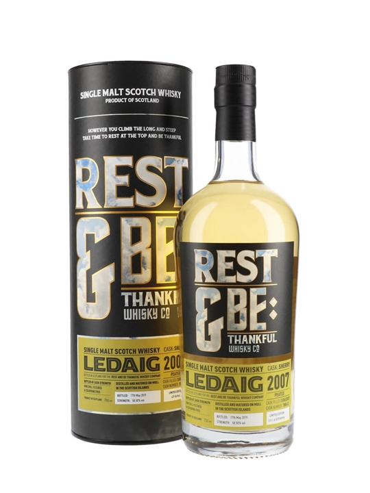 Ledaig 2007 / Bot.2019 / Rest & Be Thankful Island Whisky