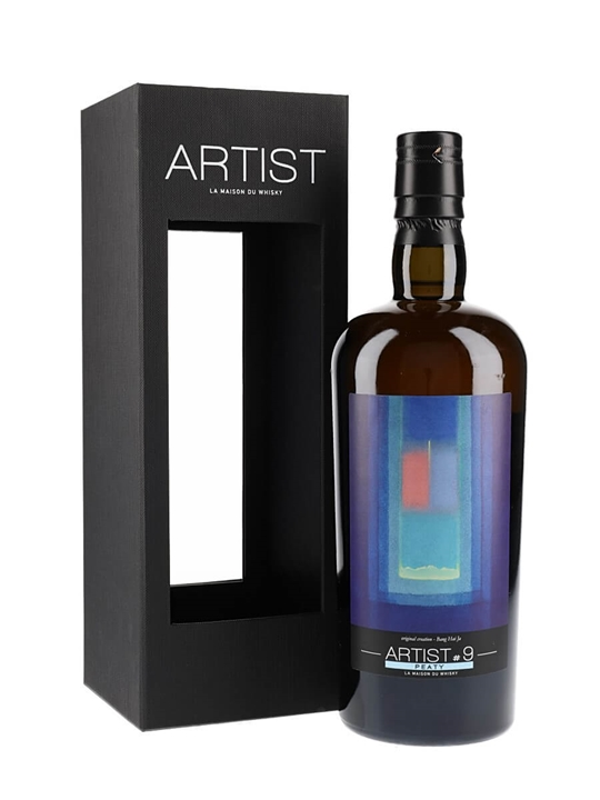 Ledaig 2007 / 10 Year Old / Peaty Artist #9 / SIG for LMDW Island Whisky
