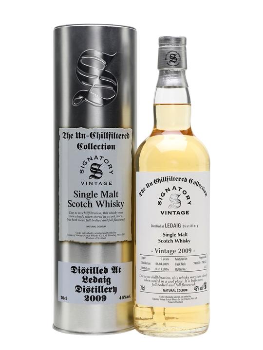 Ledaig 2009 / 7 Year Old / Signatory Island Single Malt Scotch Whisky