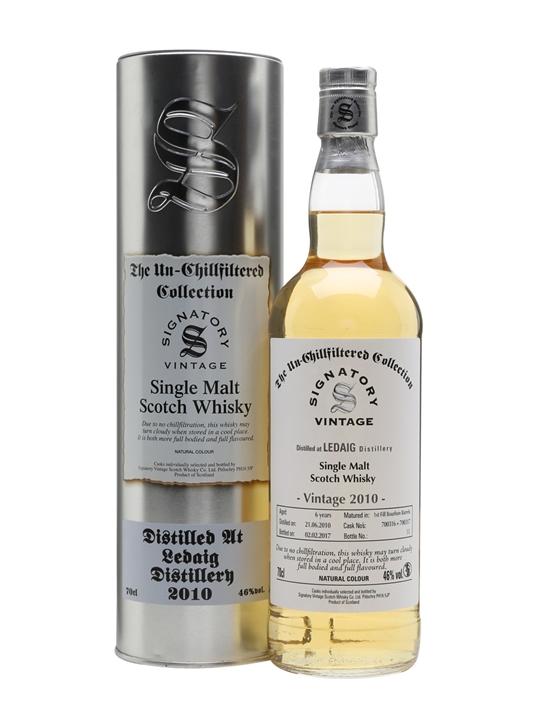 Ledaig 2010 / 6 Year Old / Signatory Island Single Malt Scotch Whisky
