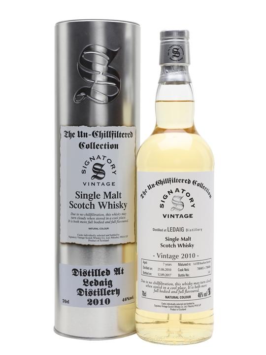 Ledaig 2010 / 7 Year Old / Signatory Island Single Malt Scotch Whisky
