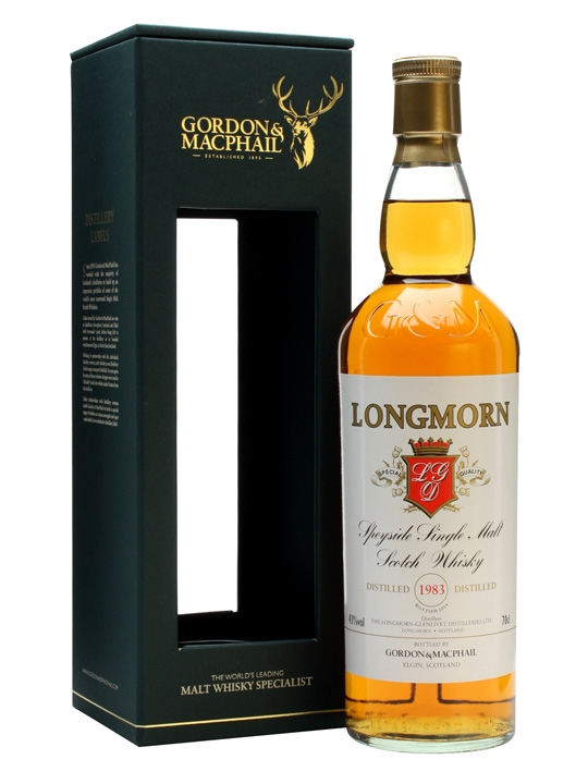 Longmorn 1983 / Bot.2014 / Gordon & Macphail Speyside Whisky