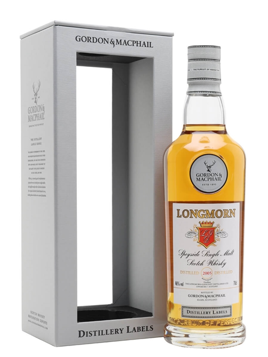 Longmorn 2005 / Bot.2020 / G&m Distillery Labels Speyside Whisky