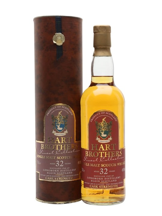 Longmorn 1968 / 32 Year Old / Hart Brothers Speyside Whisky