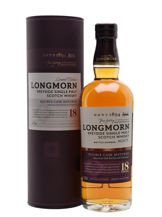 Longmorn 18 Year Old / Secret Speyside Speyside Whisky