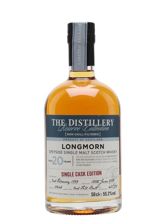 Longmorn 1999 / 20 Year Old / Distillery Edition Speyside Whisky