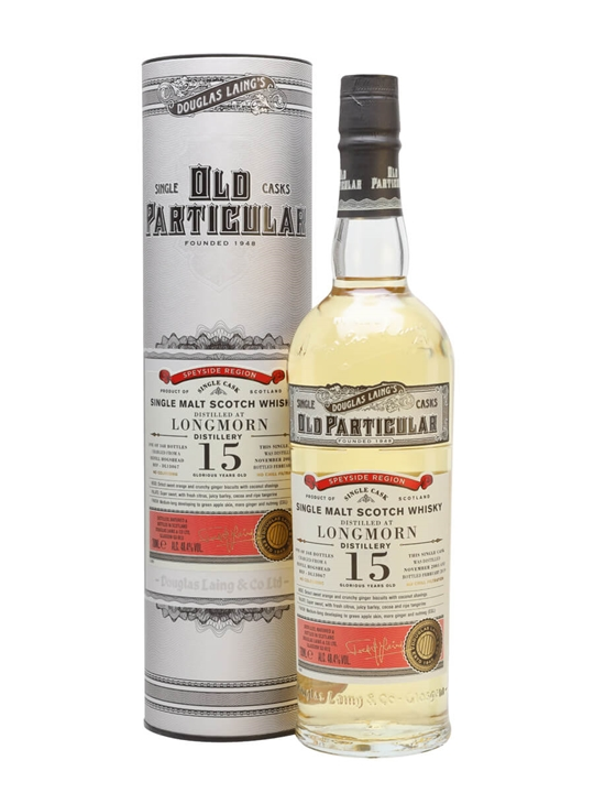 Longmorn 2003 / 15 Year Old / Old Particular Speyside Whisky