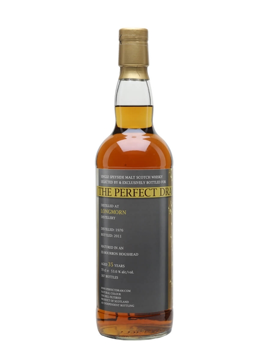 Longmorn 1976 / 35 Year Old / The Perfect Dram Speyside Whisky