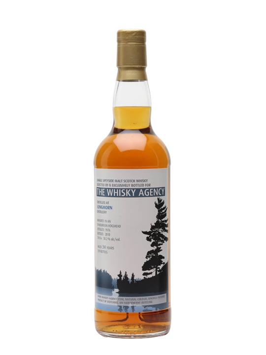 Longmorn 1976 / 34 Year Old / Whisky Agency Speyside Whisky