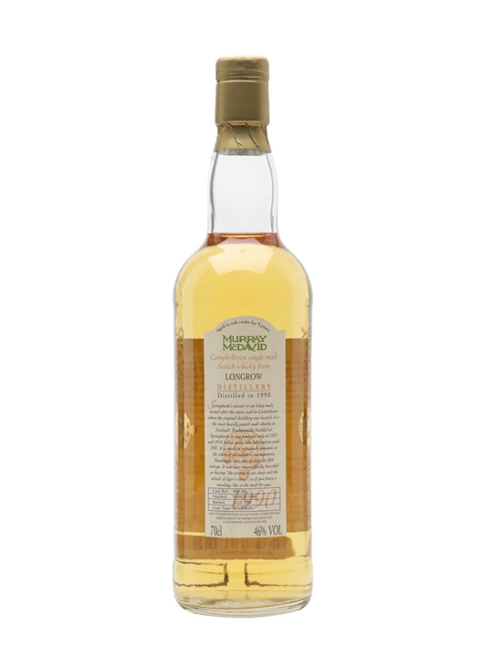 Longrow 1990 / 9 Year Old / Cask #MM206 Campbeltown Whisky