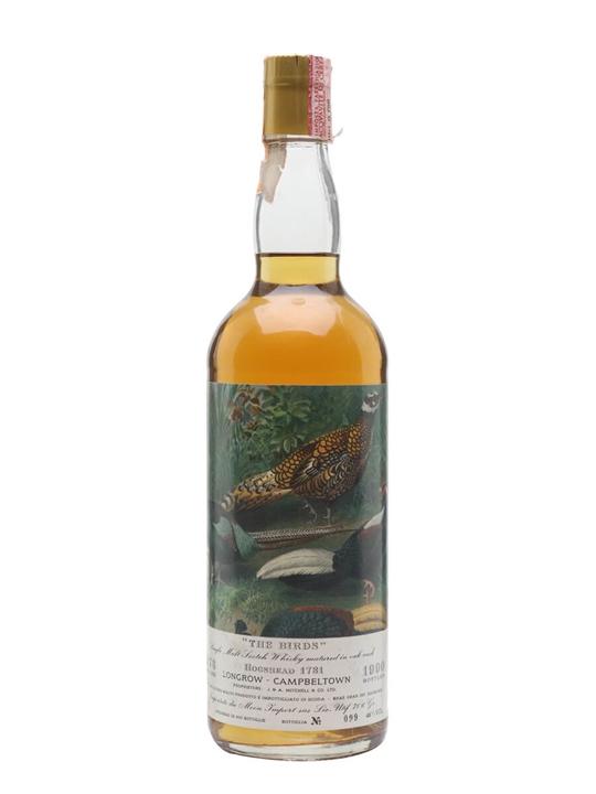 Longrow 1973 / The Birds / Moon Import Campbeltown Whisky