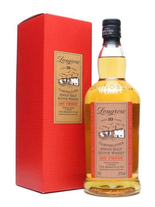 Longrow 10 Year Old / 100 Proof Campbeltown Single Malt Scotch Whisky
