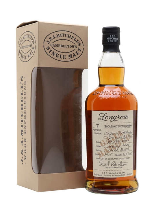 Longrow 2000 / 7 Year Old / Barolo Wood Finish Campbeltown Whisky