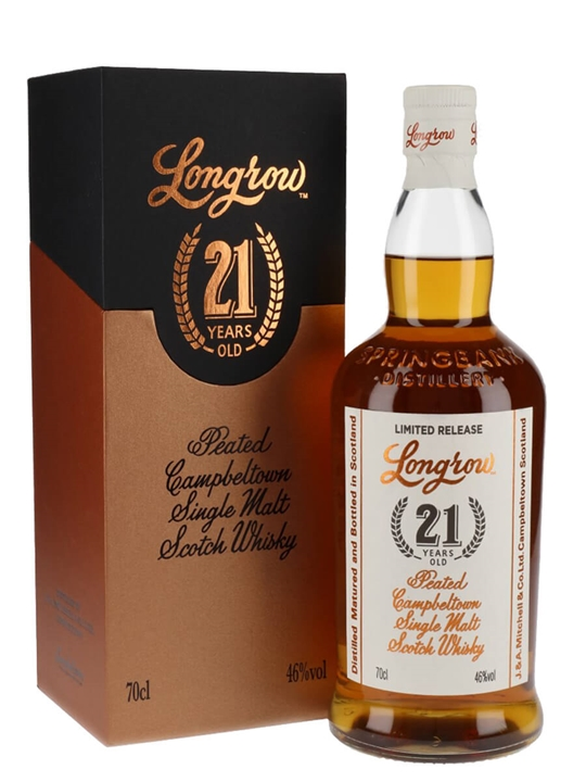 Longrow 21 Year Old / 2019 Release Campbeltown Whisky