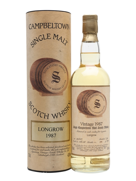 Longrow 1987 / 8 Year Old / Signatory Campbeltown Whisky