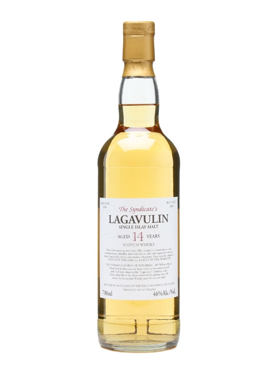 The Syndicate's Lagavulin 1990 / 14 Year Old Islay Whisky