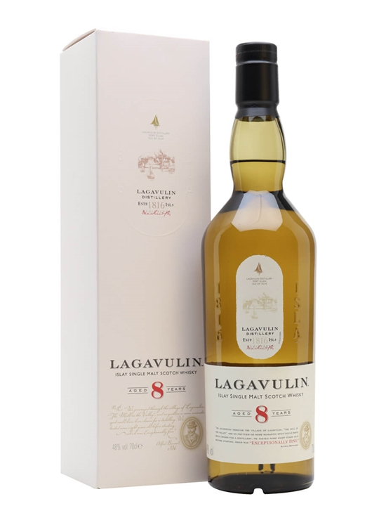 Lagavulin 8 Year Old Islay Single Malt Scotch Whisky