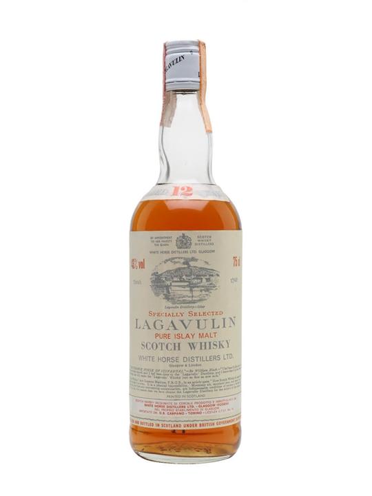 Lagavulin 12 Year Old / Bot.1970s Islay Single Malt Scotch Whisky