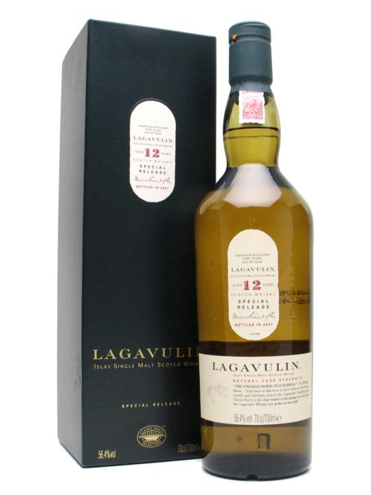 Lagavulin 12 Year Old / Bot.2007 / 7th Release Islay Whisky