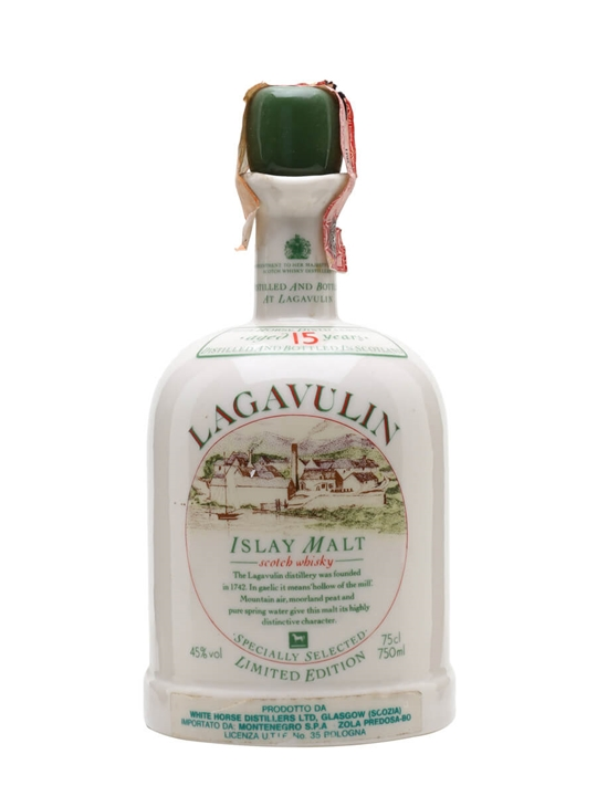 Lagavulin 15 Year Old / Bot.1980s Islay Single Malt Scotch Whisky