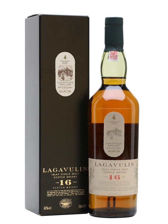Lagavulin 16 Year Old / Small Bottle Islay Single Malt Scotch Whisky