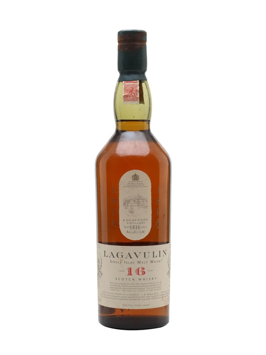 Lagavulin 16 Year Old / White Horse / Bot.1990s Islay Whisky