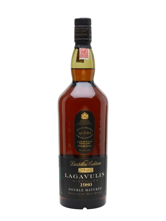 Lagavulin 1980 / Distillers Edition / Litre Islay Whisky