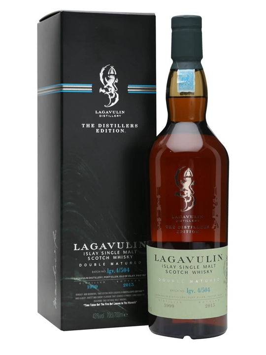 Lagavulin 1999 Distillers Edition / Bot.2015 Islay Whisky