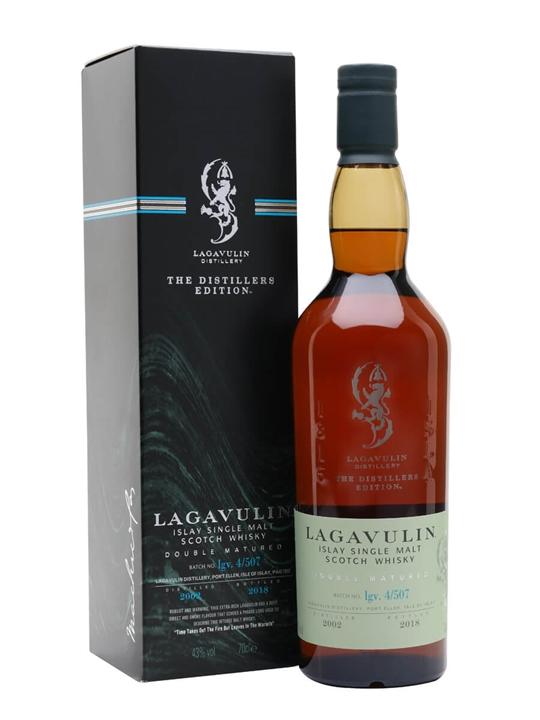 Lagavulin 2002 Distillers Edition / Bot.2018 Islay Whisky