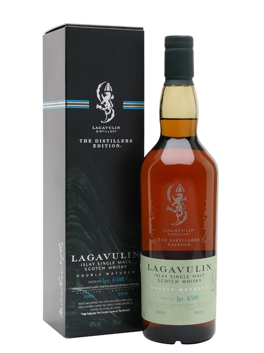 Lagavulin 2003 / Distillers Edition / Bot.2019 Islay Whisky