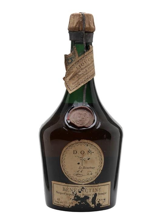 Benedictine D.O.M Liqueur / Bot.1950s
