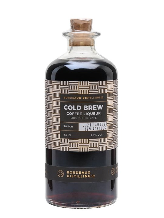 Bordeaux Distilling Cold Brew Coffee Liqueur