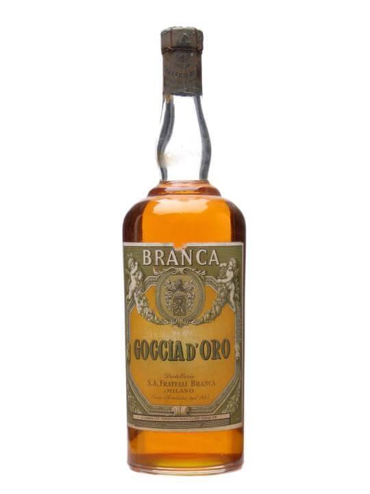 Branca Goccia D'Oro Liqueur / Bot.1950s