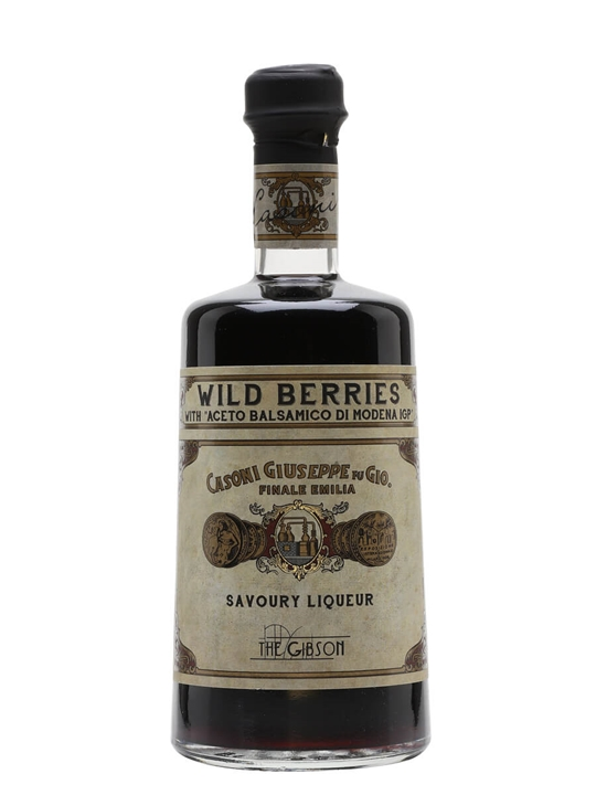 The Gibson Casoni Wild Berries Savoury liqueur