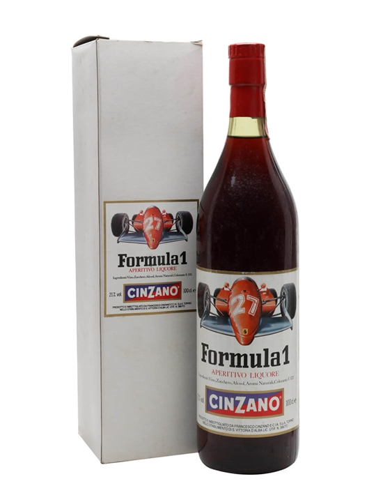 Cinzano Formula 1 Vermouth / Bot.1970s