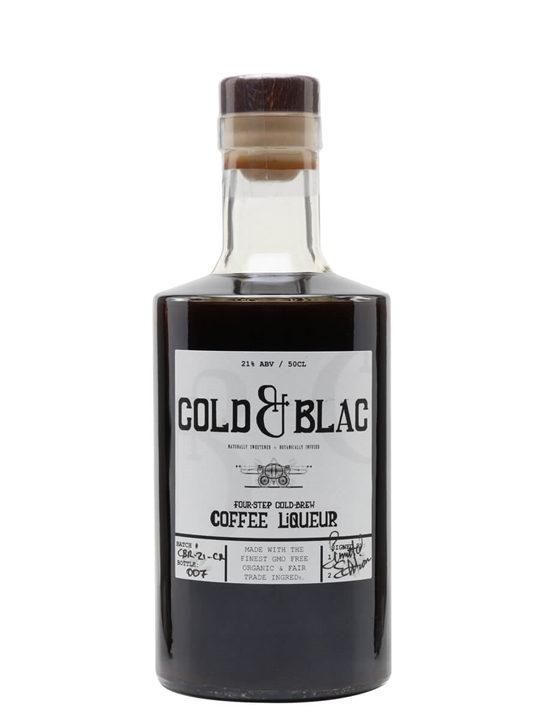 Cold & Blac Coffee Liqueur