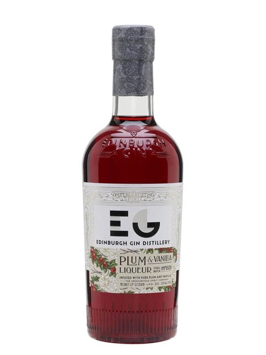 Edinburgh Plum And Vanilla Gin Liqueur