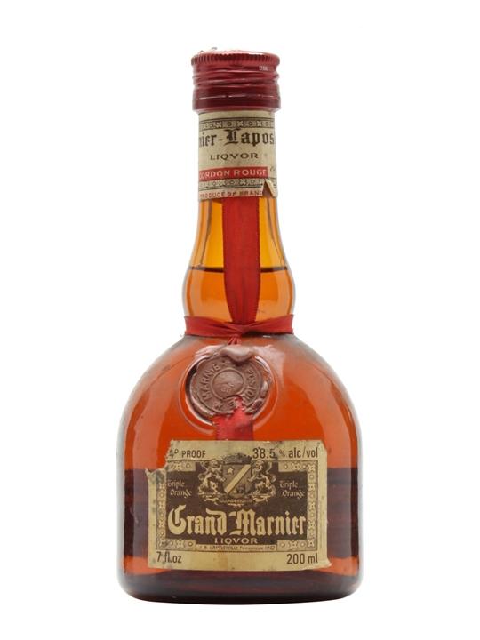 Grand Marnier / Bot.1970s / Small Bottle