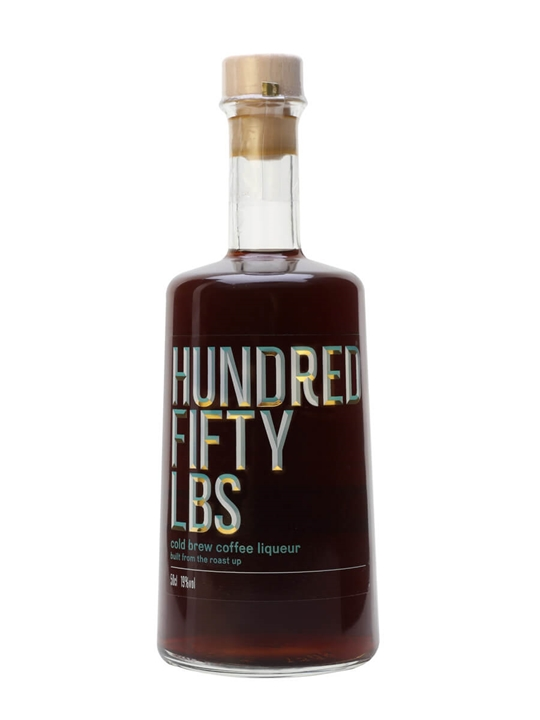 Hundred Fifty Lbs Cold Brew Coffee Liqueur