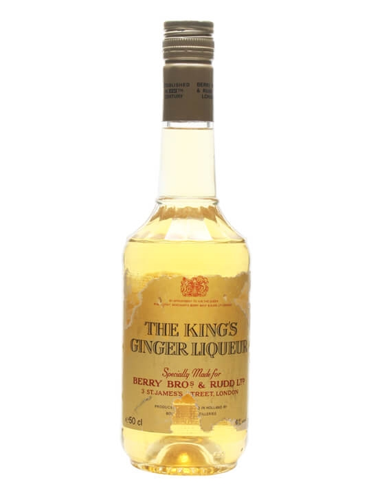 King's Ginger Liqueur / Bot.1980s