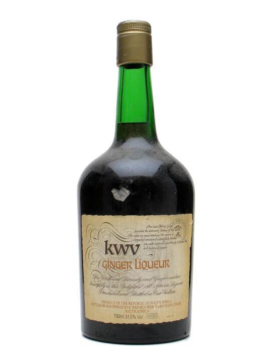 KWV Ginger Liqueur / Bot.1980s