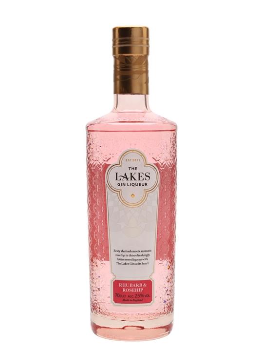 The Lakes Rhubarb & Rosehip Gin Liqueur