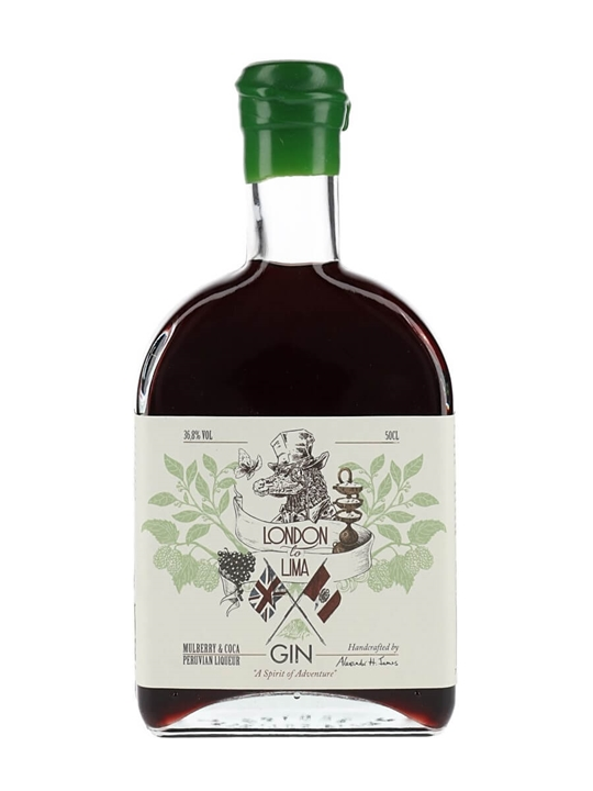 London to Lima Mulberry & Coco Gin Liqueur